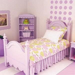 Color violeta para decorar el cuarto de los ni os - Color habitacion nino ...