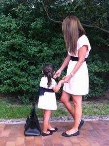 Paula Echevarría y su hija Daniella visten igual