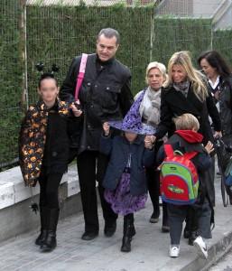 Ramón García celebra Halloween con sus hijas