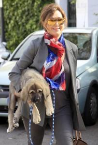 Ana Rosa Quintana regala un cachorro a sus hijos