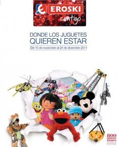 Catálogo de juguetes de Eroski