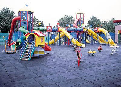 Parques infantiles, para armar