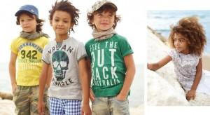 Colección infantil Benetton primavera-verano