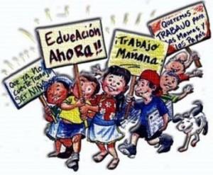Derechos del niño en el Día Mundial contra el Trabajo Infantil