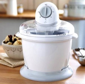 Máquina para hacer helados en casa