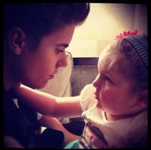 Avalanna, una niña de seis años que se casó con Justin Bieber