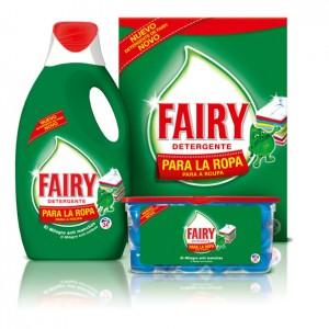Fairy detergente para la ropa: un regalo para toda la familia