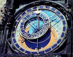 prague town hall clock