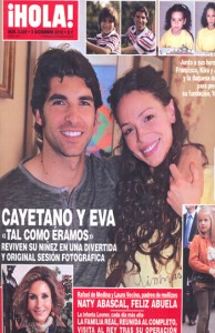 Cayetano Rivera presenta la Fundación Yo Niño