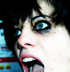 Sesión de disfraz: alice glass
