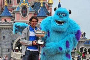 Rafa Nadal en Disneyland Paris