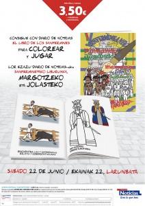 Libro de San Fermín para colorear y pintar