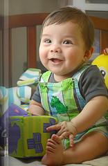 La sonrisa del niño // Bebé Dante