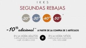 Rebajas para niños en IKKS