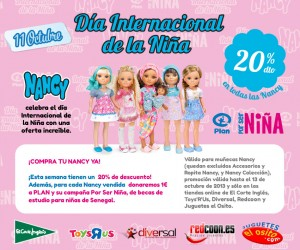 Celebra el Día Internacional de la Niña con Nancy