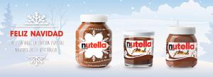 Nutella, edición limitada de Navidad