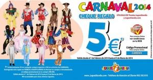 Descuentos de carnaval en Juguetilandia