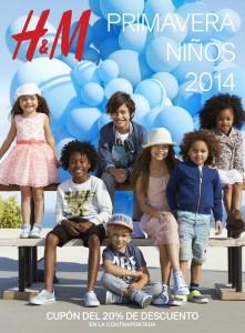 20% en la línea infantil de H&M