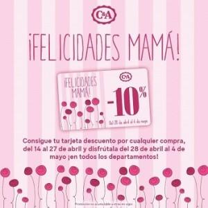 10% de descuento en C&A por el Día de la Madre