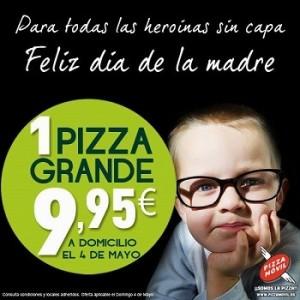 Pizza móvil para el Día de la Madre