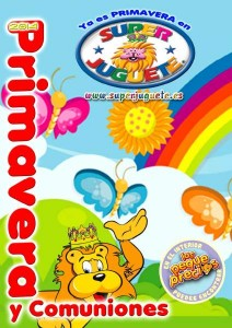 Catálogo Superjuguete primavera y Comuniones