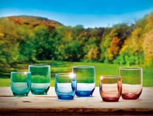 Colección de vasos Nocilla, Los Colores de la Naturaleza