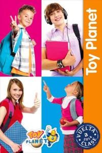Catálogo Toy Planet vuelta al cole 2014
